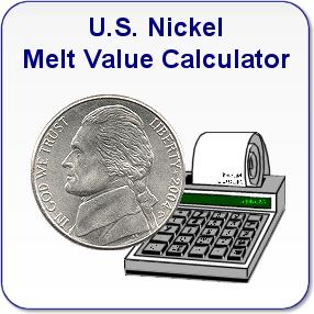 U S Nickel Melt Value Calculator